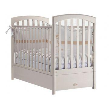 Кроватка детская Feretti FMS Sauvage (продольный маятник) (слоновая кость)