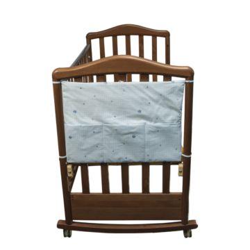 Карман на кроватку Сонный Гномик Акварель