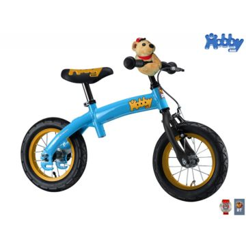 Беговел-велосипед (2 в 1) Hobby Bike New (голубой)