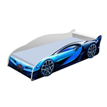 Кровать-машина Кроватка5 Бугатти (синяя)