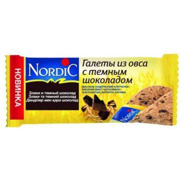 Галеты Nordic из овса с темным шоколадом 30 г
