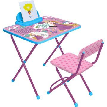 Комплект детской мебели Ника Детям Disney 1 Рапунцель
