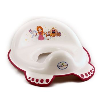 Накладка на унитаз антискользящая Tega Baby (Маленькая принцесса)