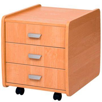 Тумба Астек 3 ящика (бук)