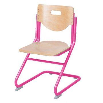 Растущий стул Астек SK-2 (береза/розовый)