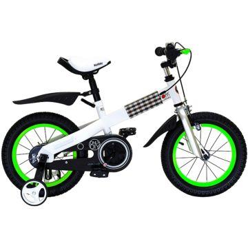 """Детский велосипед Royal Baby Buttons Steel 16"""" (зеленый)"""