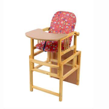 Стул-стол для кормления Мега Дом Слоник (красный)