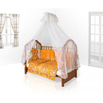 Комплект постельного белья Eco Line Fabric Забавные Зверята 120х60см (6 предметов) микс 1