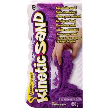 Кинетический песок Kinetic Sand 1 яркий цвет 680 г (Фиолетовый)