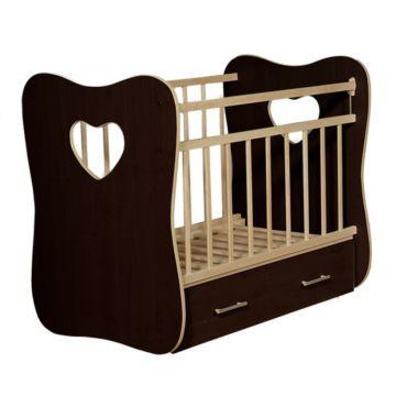 Кроватка детская ВДК Vita (поперечный маятник) (венге)