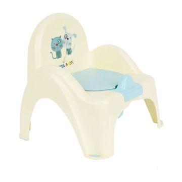 Горшок-стульчик Tega Baby (Пёс и кот)