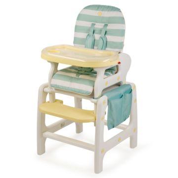Стульчик для кормления Happy Baby Oliver V2 (голубой)