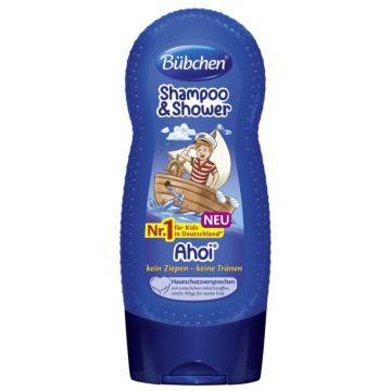 Шампунь для мытья волос и тела Bubchen Йо-хо-хо 230 мл