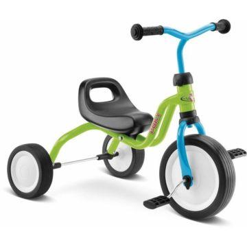 """Трехколесный велосипед Puky Fitsch с ПВХ-колесами 9"""" и 7"""" (салатовый)"""