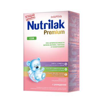 Сухая молочная смесь Nutrilak Premium Соя (с 0 мес.) 350 г