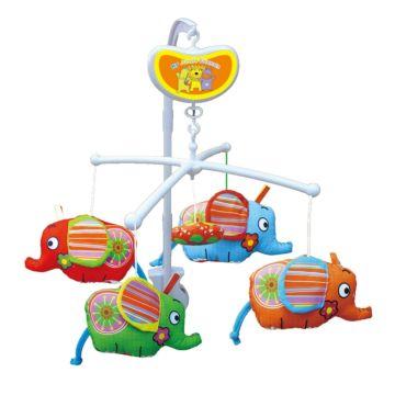 Музыкальный мобиль Biba Toys Слоники