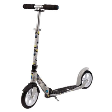 Самокат Micro Scooter White Floral (grey)