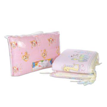 Бампер для кроватки Baby Care 38х360см