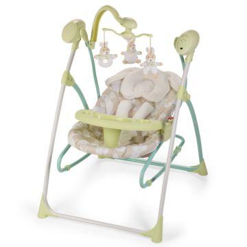 Электрокачели Happy Baby Luffy (зеленый)