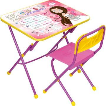 Комплект детской мебели Ника Детям Принцесса КПУ1