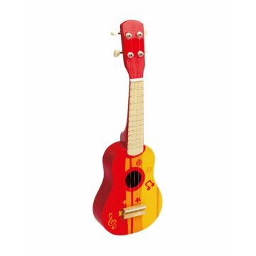 Развивающая игрушка музыкальная Hape Гитара (Красный)