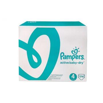 Подгузники Pampers Active Baby-Dry Maxi (8-14 кг) 174 шт