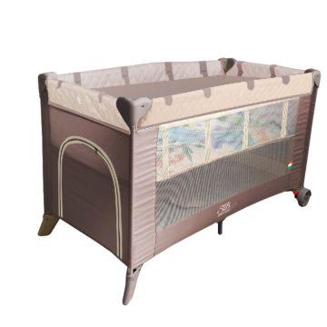Манеж-кровать 5 в 1 Sweet Baby Intelleto Cacao