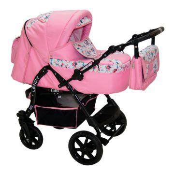 Коляска-трансформер Babyhit Lendy (розовый)