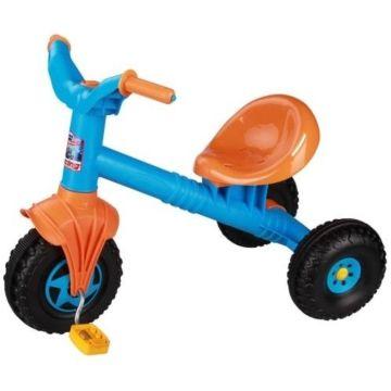 Трехколесный велосипед Plast Land Ветерок (голубой)