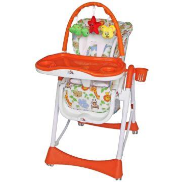 Стульчик для кормления ForKiddy Optimum Toy V2 (оранжевый)