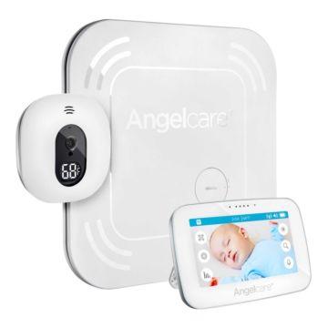 """Видеоняня AngelCare AC417 с дисплеем 4.3"""" и монитором дыхания"""