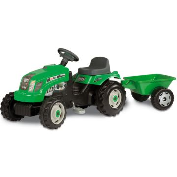 Трактор на педалях Smoby GM Bull (зеленый)