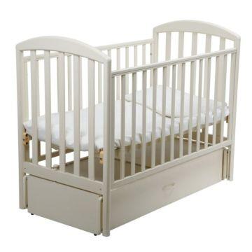 Кроватка детская Papaloni Джованни (продольный маятник) (Слоновая кость)