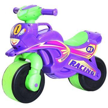 Беговел-мотоцикл RT Motobike Racing (фиолетовый)