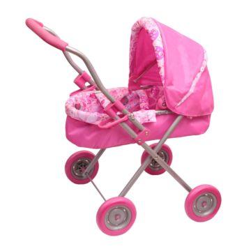 Коляска для куклы Gulliver 2213098 (Розовый)