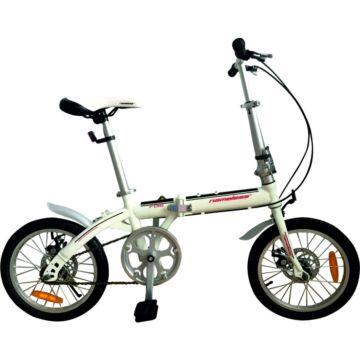 """Велосипед Nameless F016D 16"""" складной (белый)"""