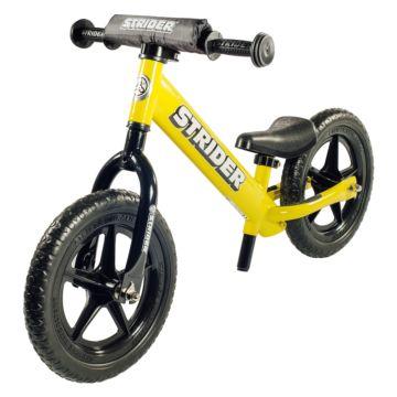 """Беговел Strider 12"""" Sport (желтый)"""