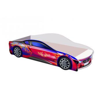 Кровать-машина Кроватка5 БМВ (фиолетовая)