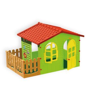 Игровой домик Mochtoys садовый 10498