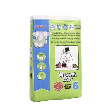 Подгузники MiniMax Muumi Baby Junior (12-24 кг) 36 шт.