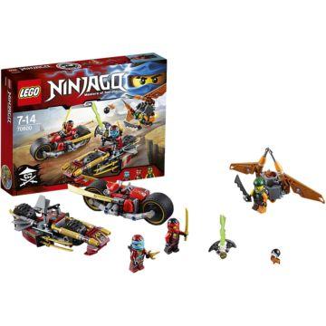 Конструктор Lego Ninjago 70600 Ниндзяго Погоня на мотоциклах