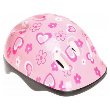 Шлем MaxCity Baby Flower S (розовый)