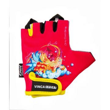 Велоперчатки Vinca Sport для ребенка 2-3 лет (принцесса)