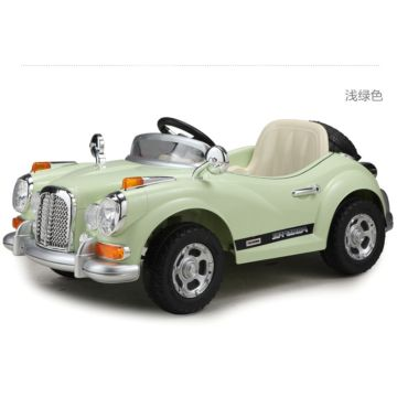 Электромобиль Joy Avtomatic Retromobil JE128R с пультом управления (зеленый)
