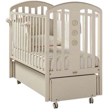 Кроватка детская Feretti FMS Elegance (продольный маятник) (слоновая кость)