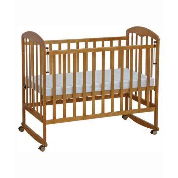 Кроватка детская Фея 323 (качалка-колесо) (Медовый)