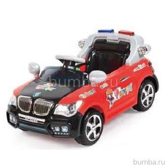 Электромобиль TjaGo BMW Police 20X8-Yj надув с пультом управления (черный)