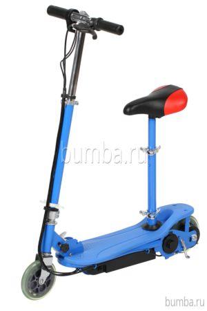 Электросамокат Tanko T3S с сиденьем (синий)