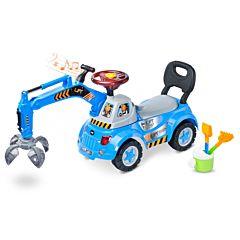 Каталка Toyz Lift (голубая)