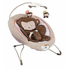 Шезлонг Fitch Baby Delux Bouncer (коричневый)